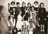 Pageant in Stetchworth school on Coronation Day.