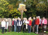 Stetchworth WI - Arrival of Centenary Baton