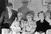 Mr Freestone and family at 123 Middle Watch.. Description