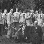First world war wounded soldiers in Swavesey.. Description