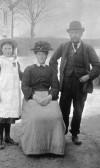 Charles Crisp & family at Ramper Road, Swavesey.. Description