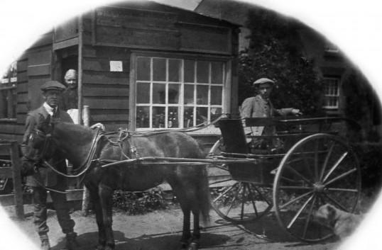 Crouchs Shop, Boxworth End, Swavesey. circa 1930.. Description