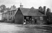 Charles Burlings blacksmith shop in Swavesey.. Description