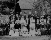 Edwardian wedding in Swavesey.. Description