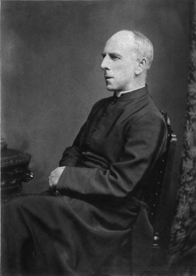 The Rev Henry Isaac Sharp vicar of Swavesey from 1863 to 1884.. Description