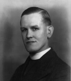 Rev Herbert Cecil Franklin vicar of Swavesey from 1951.. Description