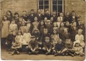 Either Gt. Raveley school or a school in a neighbouring village. Exact date unknown, possibly late 1920's up to late 1930's