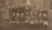 School photo Upwood, C of E School.