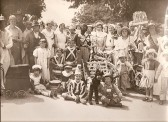 Coronation celebrations at Upwood Church Corner