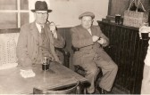 Cross Keys Pub, Upwood.  Stephen Kennell on left.