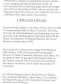 Page 3 of sale catalogue for Upwood house