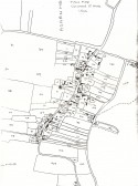 Tithe map for Upwood