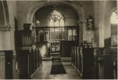 View of Chancel in St Peters Church, Upwood.