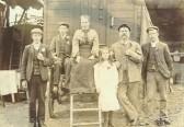 Photo of the King Family taken around 1898.