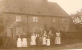 Photo believed to be of the cottages High Street, Upwood.