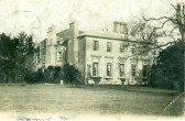 """""""Upwood House"""" Picture taken from a postcard marked Ramsey Hunts. Dated 1907."""