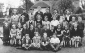 Great Raveley School Class 1958