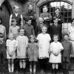 An early school photo from Great Raveley