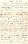 Letter to David Hobbs of Great Ravley.