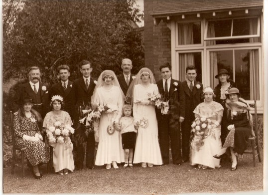 The Wedding of Murial and Fran Shaw