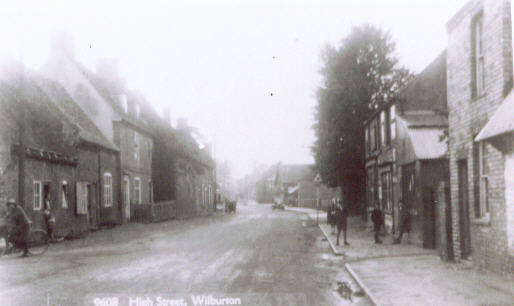 The High Street - the building on the right is now the Post Office.