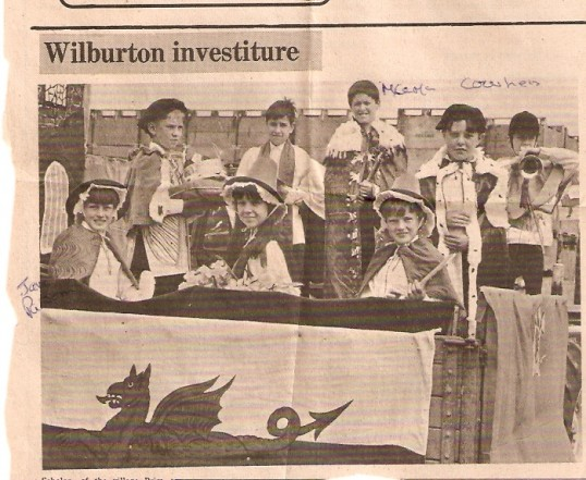 Wilburton school investiture parade