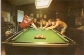 Wilburton lads doing a 24 hour pool marathon