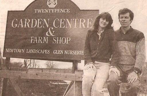 Opening of Twenty Pence Garden Centre.