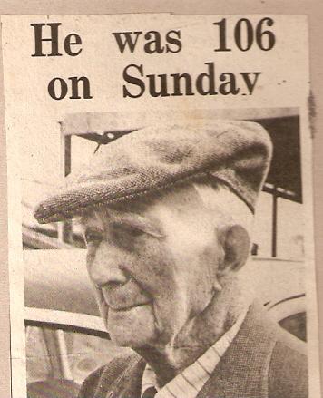 William Everitt 106 years