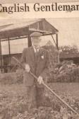 Mr William Everitt still gardening at 106 yrs