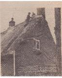 Thatching Elm Cottage in the High Street