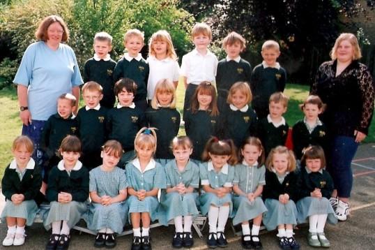 Wilburton school children year 1