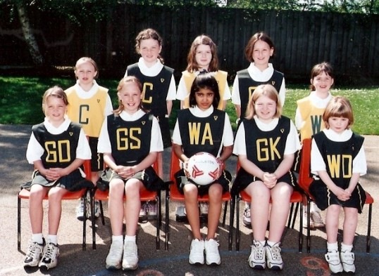 Wilburton school netball group