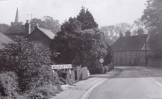 Wilburton the year they won the best kept village competition getting 88 points out  of 100.