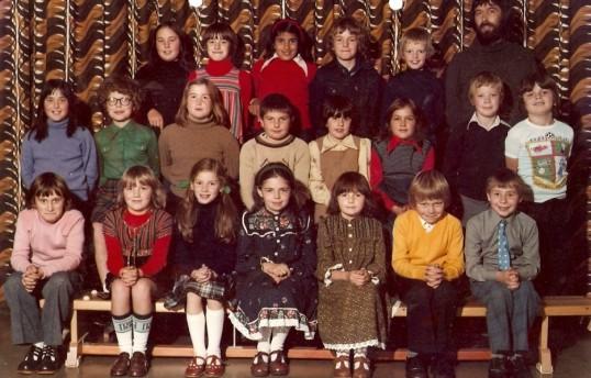 Group of children at Wilburton school