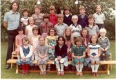 Class photo Wilburton school