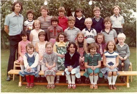 Class photo Wilburton school