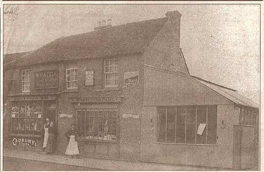 Mr W Hazel's shop Wilburton