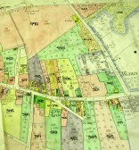 Wilburton, Land Values Map 1910 by permission of Cambridgeshire Archives and Local Studies