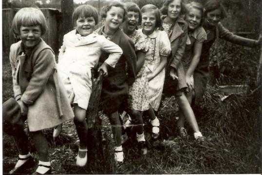 Wilburton girls playing