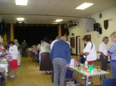 Visitors to Wilburton St Peter's Club Coffee morning