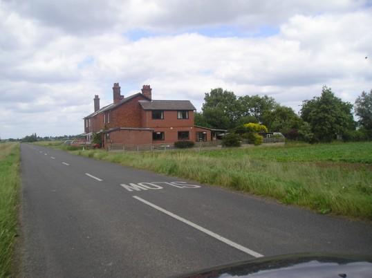 The old railway cottages in grunty fen wilburton
