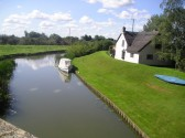 A view of the river Ouse from Twentypence bridge looking towards Haddenham