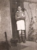 Cecil (Canna) Day when he played football Wilburton