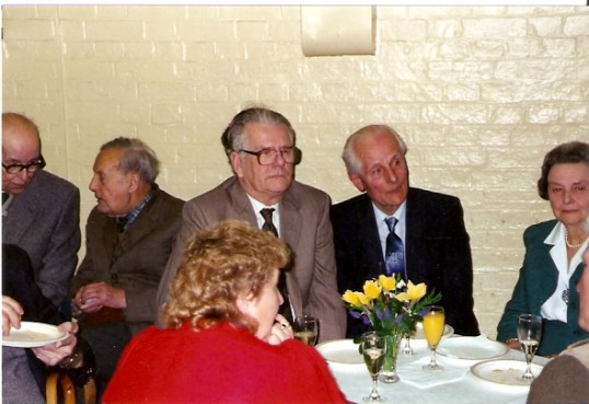 A group at Mr Yarrow's 90th party