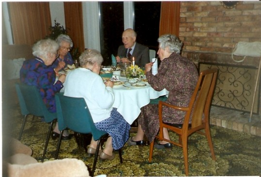 Dinner Party at Alan & Barbara Yarrow's