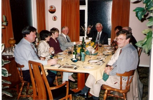 Another group at Alan & Barbara Yarrow's dinner party