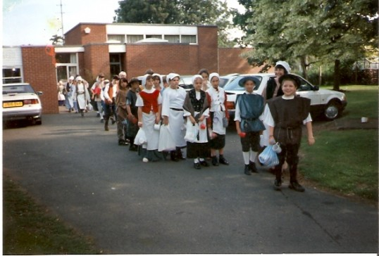 Dressed for the part at Wilburton School