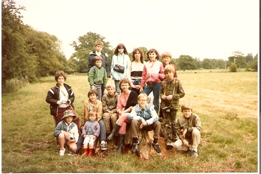 Wilburton School children on a day out in the country