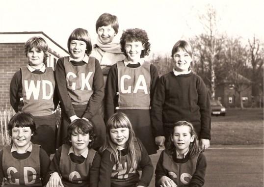 Net Ball Team Wilburton School